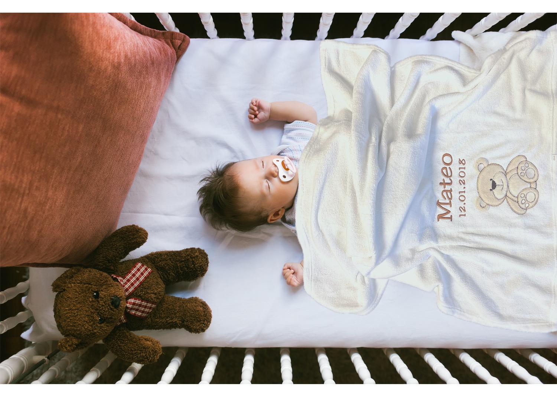 BABYDECKEN (bestickt)