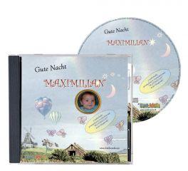 3 personalisierte Gute Nacht Geschichten auf CD