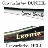 Kinderbesteck mit Namens-Gravur Marke: ZWILLING / Motiv: JUNGLE (farbig)