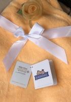 Babydecke - bestickt mit Name - Grau ELEFANT