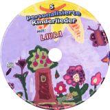 5 personalisierte Kinderlieder auf CD