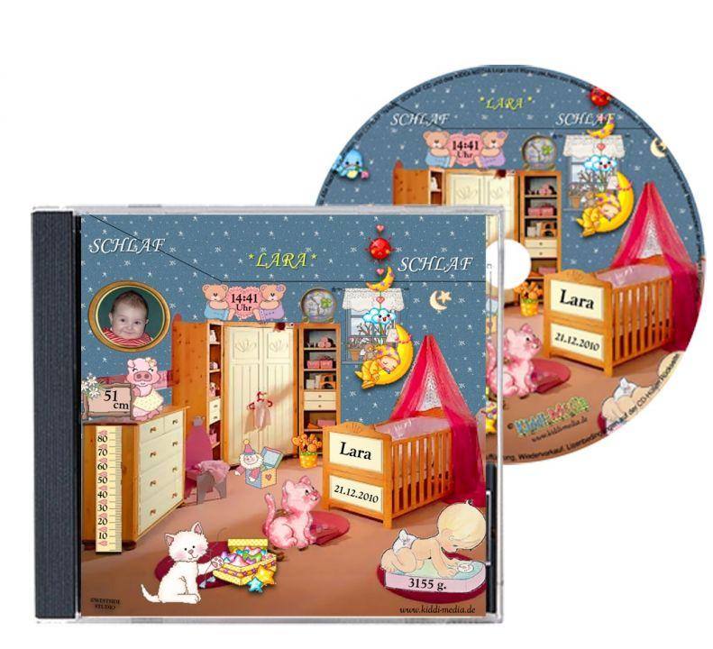 Personalisierte schlaflied cd gesungen mit vornamen des baby